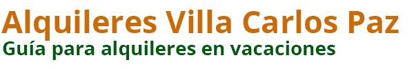 Alquileres Villa Carlos Paz 2021